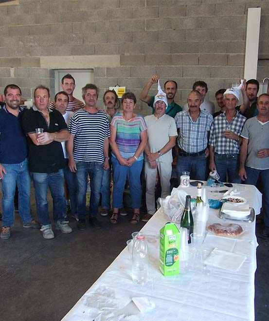 L'équipe de Veyrac carrelage à Luc la Primaube