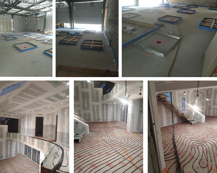 Réalisations de chapes fluides pour des logements collectifs ou individuels, bâtiments commerciaux ou industriels par Veyrac carrelage
